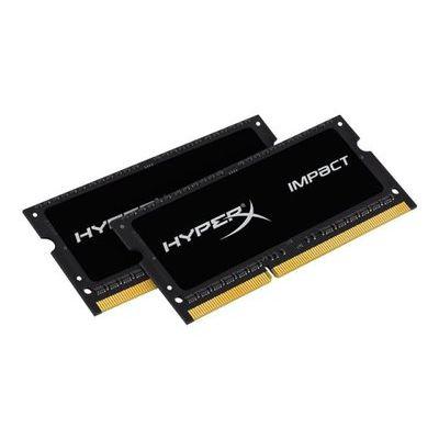 HyperX Impact Black 8GB 1866MHz DDR3L CL11 Sodimm (Kit of 2) 1.35V Mem