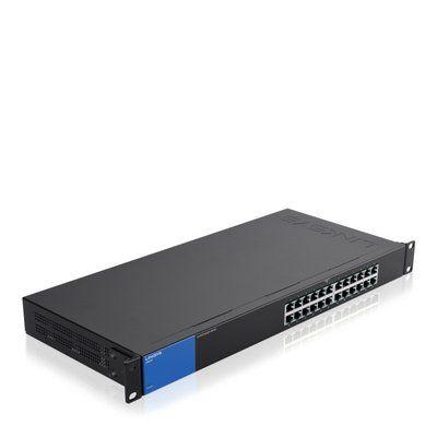 Linksys 1Gb Unmanaged Switch 24-port