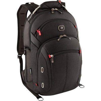 """WENGER Gigabyte 15"""" Laptop Backpack - Black"""
