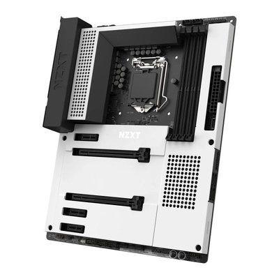 NZXT N7 Intel Z490 White ATX Motherboard