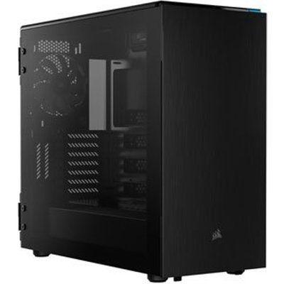 Corsair Carbide 678C Black Quiet Glass Midi PC Gaming Case