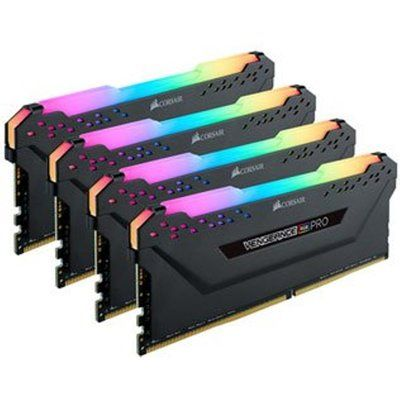 Corsair Vengeance RGB PRO Black 64GB 2933 MHz DDR4 Quad Channel Memory