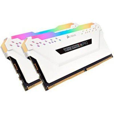 White Corsair Vengeance RGB PRO DDR4 Memory Addressable Light Enhancem