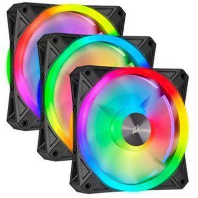 Corsair iCUE QL120 RGB 120mm PWM Fan Triple Pack