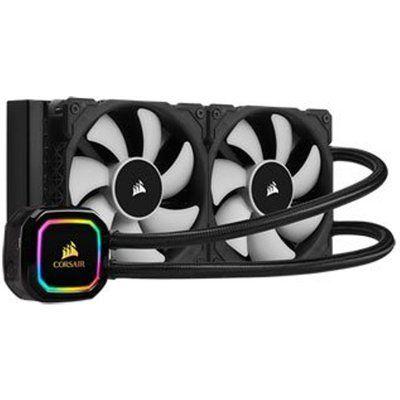 Corsair 240mm H100i RGB PRO XT Intel/AMD CPU Liquid Cooler