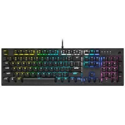 Corsair K60 Rgb Pro Low Profile Mechanical Wired Cherry Mx Low Profile Keyboard