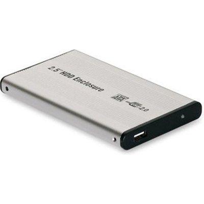 """Dynamode 2.5"""" Hard Drive SATA to USB2.0 Caddy - Silver"""