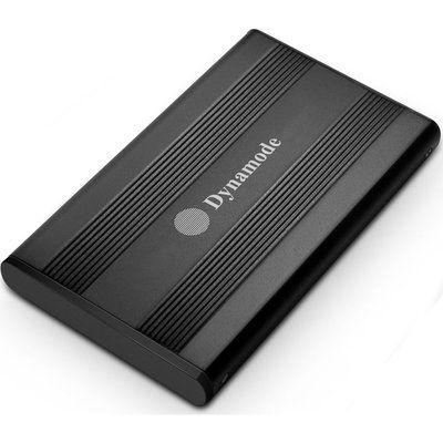 Dynamode USB3-HD2.5S-BN USB 3.0 2.5 SATA Hard Drive Enclosure - Black