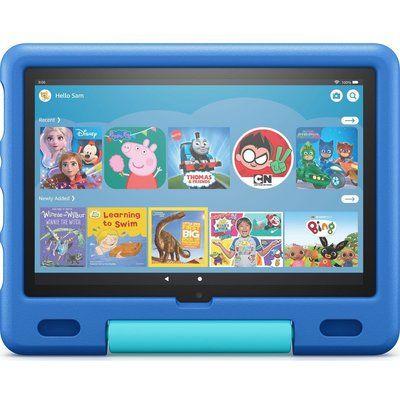 """Amazon Fire HD 10 10.1"""" Kids Tablet (2021) - 32 GB, Sky Blue"""