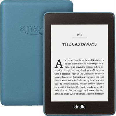 "Amazon Kindle Paperwhite 6"" Tablet - Blue"