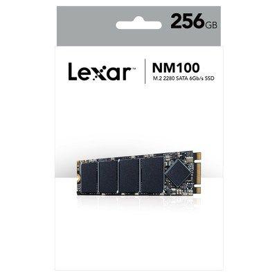 Lexar Media Lexar(R) NM100 M.2 2280 256GB Sata Iii (6Gb/s) Ssd