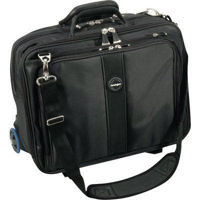 """KENSINGTON Contour Roller 17"""" Laptop Case - Black"""