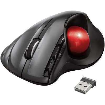 Trust Sferia Trackball 6 Button Wireless Laser Mouse - Grey