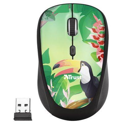 Trust Yvi Wireless Mouse - Green