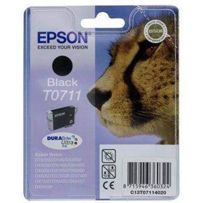 Epson Cheetah T0711 Black Ink Cartridge