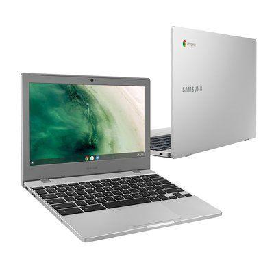 "Samsung 4 11.6"" Celeron 4GB 32GB Chromebook Platinum Titan"