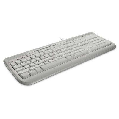 Microsoft Wired Keyboard 600 White - USB