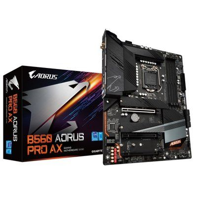 Gigabyte B560 AORUS PRO AX ATX Motherboard
