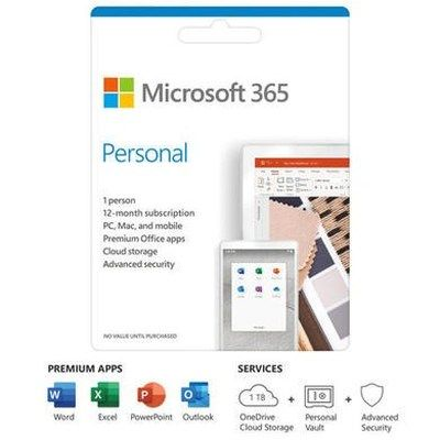 Microsoft 365 Personal 2019 - 1 User - 1 Year Subscription