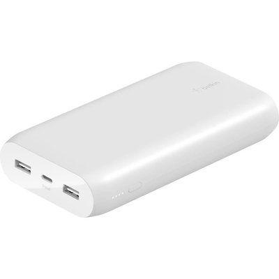 Belkin 20000 mAh Portable Power Bank - White