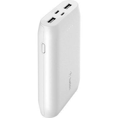 Belkin 10000 mAh Portable Power Bank - White