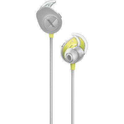 Bose SoundSport Wireless Bluetooth Headphones - Black & Yellow