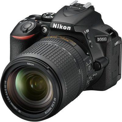 Nikon D5600 DSLR Camera with 18-140 mm f/3.5-5.6 Telephoto Zoom Lens