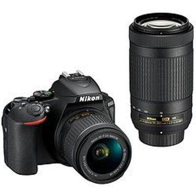 Nikon D5600 DSLR Camera + AF-P 18-55 VR Lens + AF-P 70-300 VR Kit