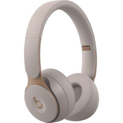 Beats Solo Pro Wireless Bluetooth Noise-Cancelling Headphones - Grey