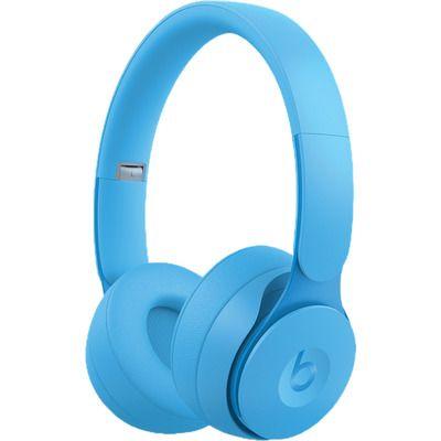 Beats Solo Pro Wireless Bluetooth Noise-Cancelling Headphones - Matte Light Blue