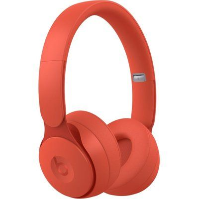Beats Solo Pro Wireless Bluetooth Noise-Cancelling Headphones - Matte Red