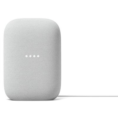 Google Nest Audio Hands-Free Smart Speaker - Chalk