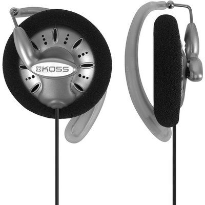 Koss KSC75 Headphones - Silver