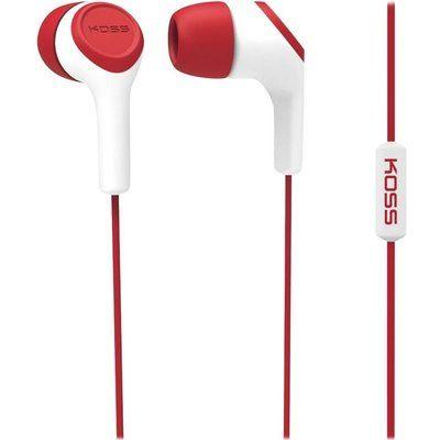Koss KEB15i Earphones - Red