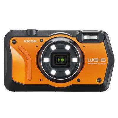 Ricoh WG-6 Tough Compact Camera - Orange