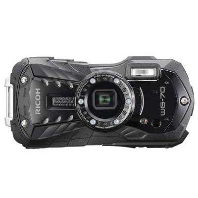 Ricoh WG-70 16MP 5x Zoom Tough Compact Camera - Black