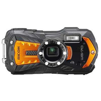 Ricoh WG-70 16MP 5x Zoom Tough Compact Camera - Orange