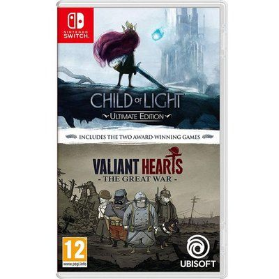 Child of Light & Valiant Hearts: The Great War for Nintendo Switch