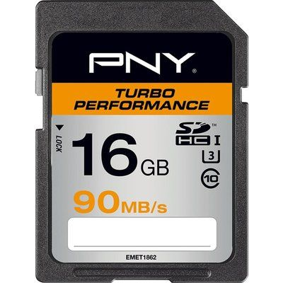Pny Turbo Performance Class 10 SDXC Memory Card - 16 GB