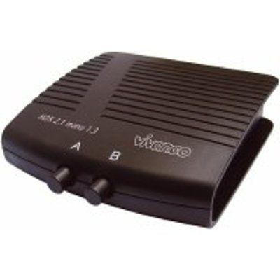 Vivanco HDX2-1MANU HDMI 2 to 1 Switching Unit - Black