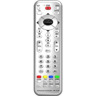 Vivanco 34874 Universal Remote Control - Silver