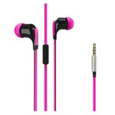 Vivanco Talk4 Earphones with Microphone & Flat Cable