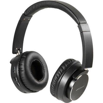 Vivanco Aircoustic Premium Wireless Bluetooth Noise-Cancelling Headphones - Black
