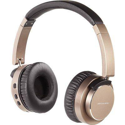 Vivanco Aircoustic Premium Wireless Bluetooth Noise-Cancelling Headphones - Bronze