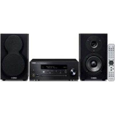 Yamaha MusicCast MCR-N470D Wireless Multi-room Traditional Hi-Fi System - Black