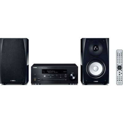 Yamaha MusicCast MCR-N570D Wireless Multi-room Traditional Hi-Fi System - Black