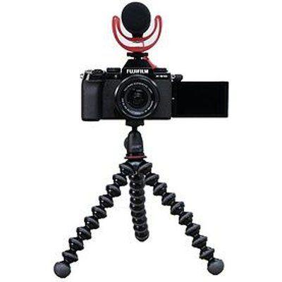 Fujifilm X-S10 Mirrorless Camera with 15-45mm XC Lens Vlogger Kit - Black