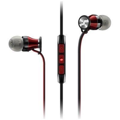Sennheiser Momentum 2.0 IEi Headphones - Black & Red & Red