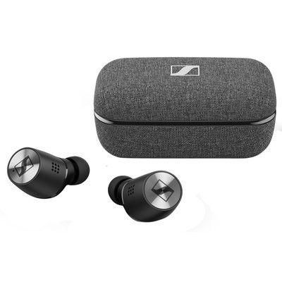 Sennheiser Momentum True Wireless 2 Bluetooth Noise-Cancelling Earphones - Black & Grey