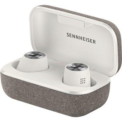 Sennheiser Momentum True Wireless 2 Bluetooth Noise-Cancelling Earphones - White & Grey